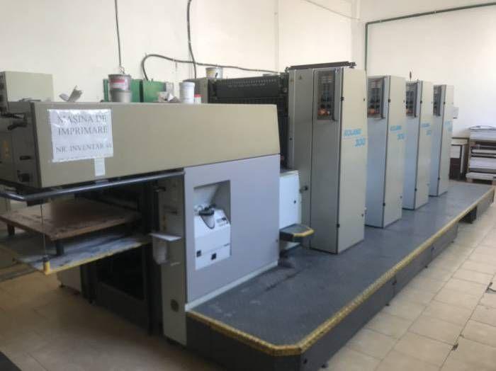 MAN Roland 304 N, Sheetfed offset machine 4 72 x 52 cm