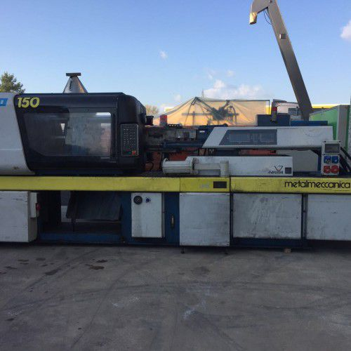Metalmeccanica 706/150, Plastic Injection molding machine 150 Ton