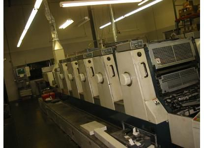 "Komori L526+ Coater Pals II, 5 Colors Offset Machine Max. 20 x 26"""