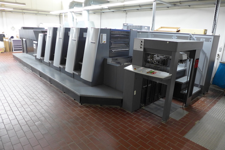 Heidelberg XL75-4+LX-F 60,5 x 75 cm