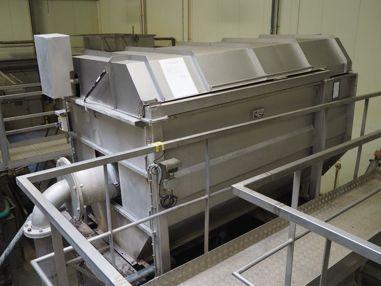 Online auction vegetable processing machinery and productions lines for carrots and celery due to closing production
