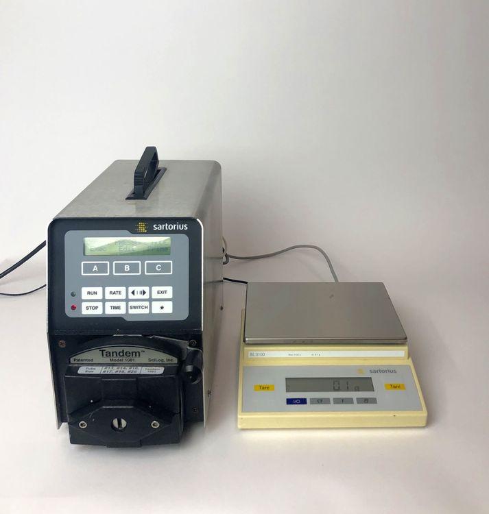 Sartorius BL3100 Chemtec Metering  Balance System