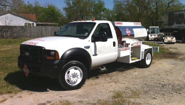 Ford F 350 Avgas Refueler