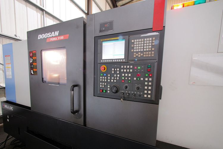 Doosan FANUC Oi 2800 rpm Puma 3100 2 Axis