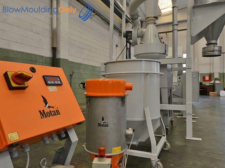 Motan HLB-15-2, Resin loading system suitable for blowmoulding machine