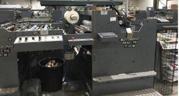 Autobond 74 THS DRY Laminator