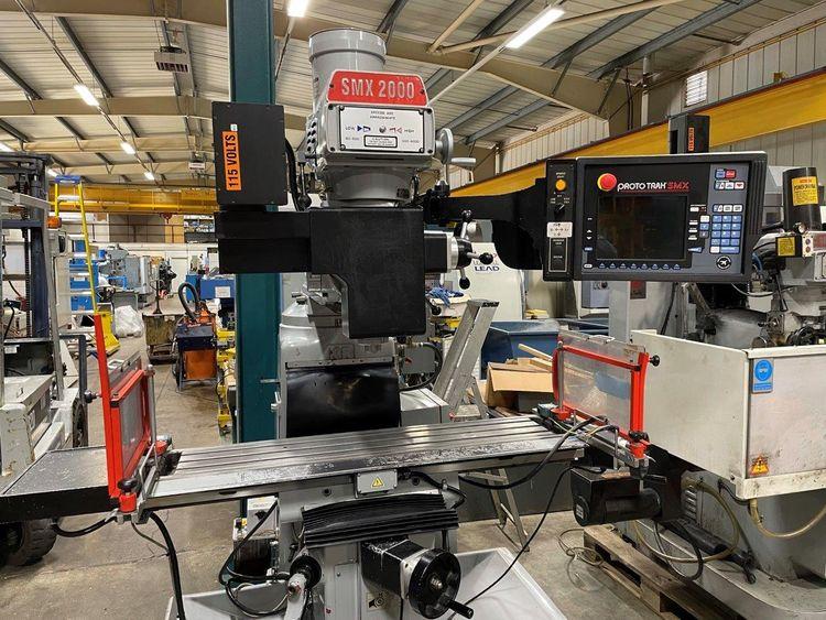 XYZ SMX3 2000 CNC Turret Mill 4200 rpm