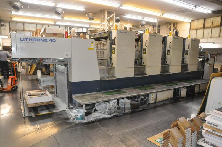 Komori New Lithrone L-440 720 x 1,030mm