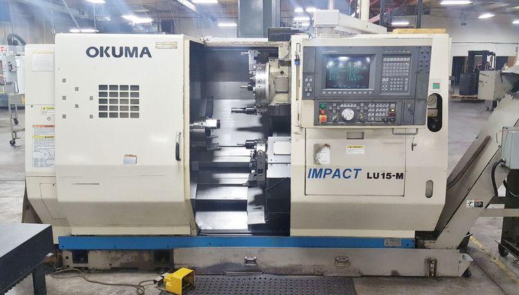 Okuma OSP-U100L CONTROL 4500 rpm IMPACT LU15-M 2 Axis