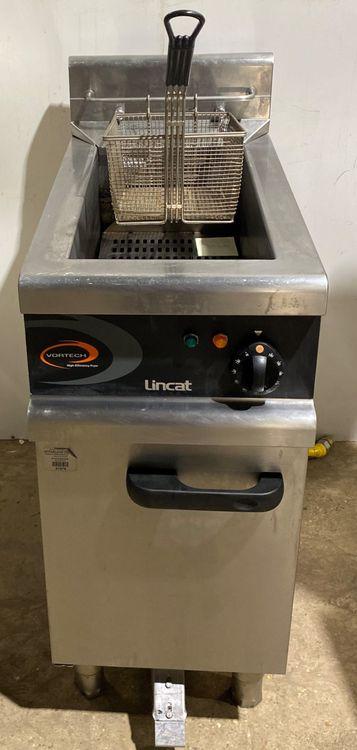 Lincat VORTECH GAS SINGLE WELL SINGLE BASKET FRYER