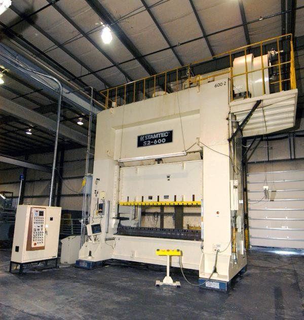 Stamtec S2-600 Max. 660 Ton