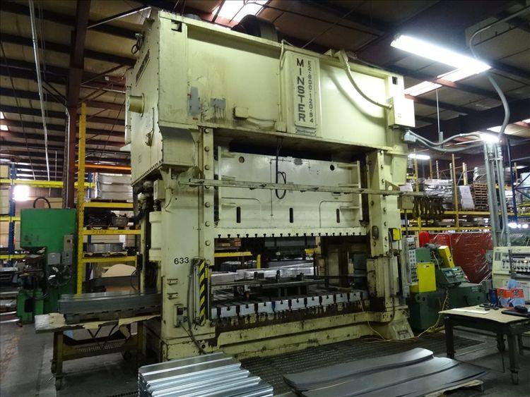 Minster E2-600-120-54 600 Ton