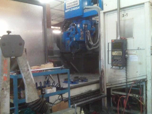 Toshiba MPF 2140/5 AXIS CNC VERTICAL MACHINING CENTER 5 Axis