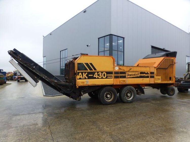 Doppstadt AK-430 Profi Shredder / Reducer