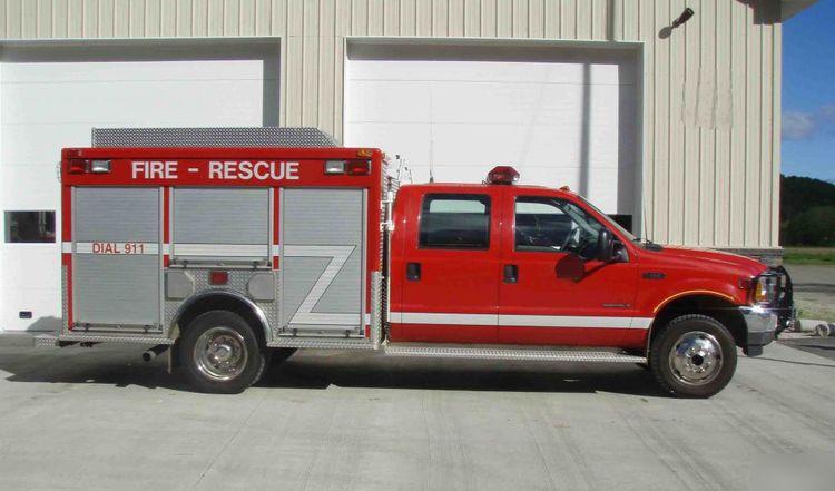 Ford, Pierce F-550, Fire Rescue