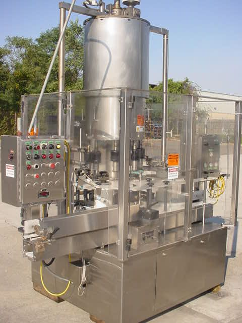US Bottlers PMC-16, AUTOMATIC ROTARY SCREW CAPPING MACHINE