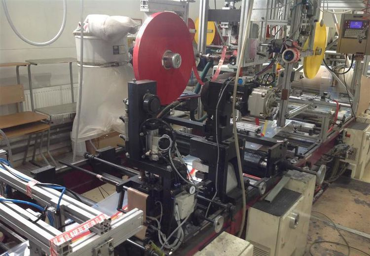 Lemo Bag making machine Side welds