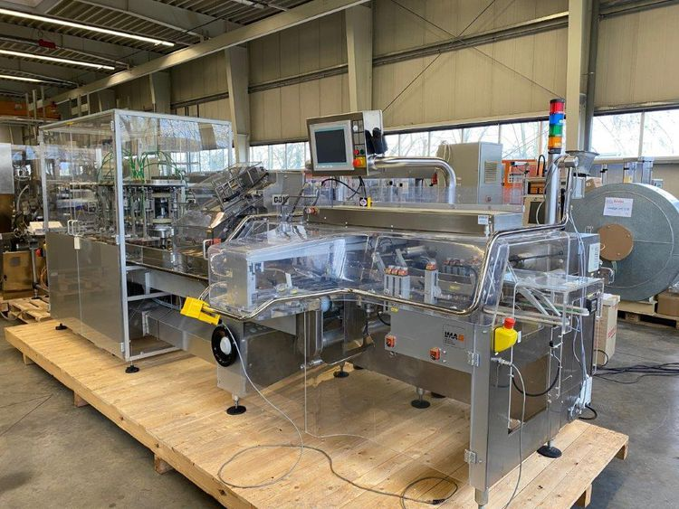 Ima complete tube filling and packing line