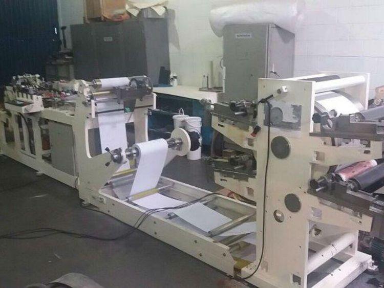 Profama Carrousel 2, Paper SOS/blockbottom bagmaking machine
