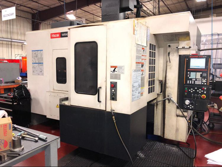 Mazak VARIAXIS 500-5X + 2PC 5 Axis