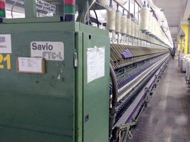 2 Cognetex, Savio FTC8L, ORION I Spinning machine linked with winder