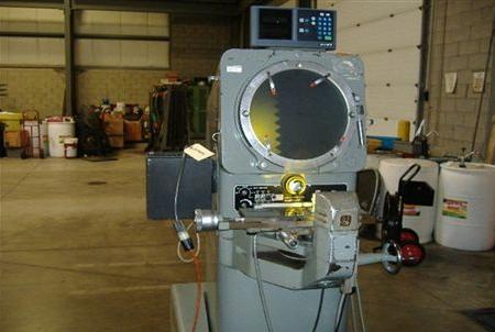 Jones & Lamson TC-14, Optical Comparator & Measuring Machine