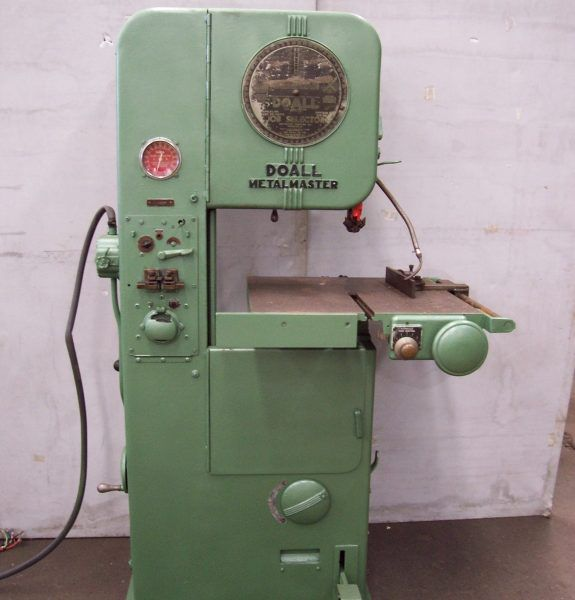 Do All Metal Master Vertical Bandsaw Automatic