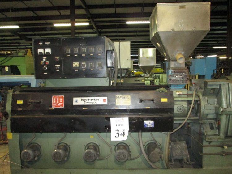 Davis Standard 35IN35, Extruder