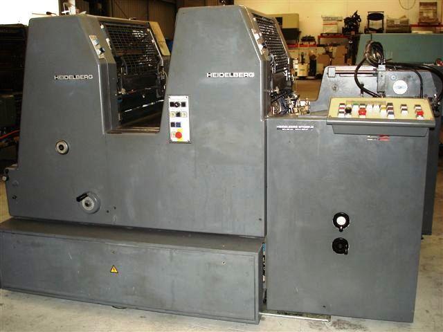 Heidelberg GTO52 ZPS 520mm x 360mm