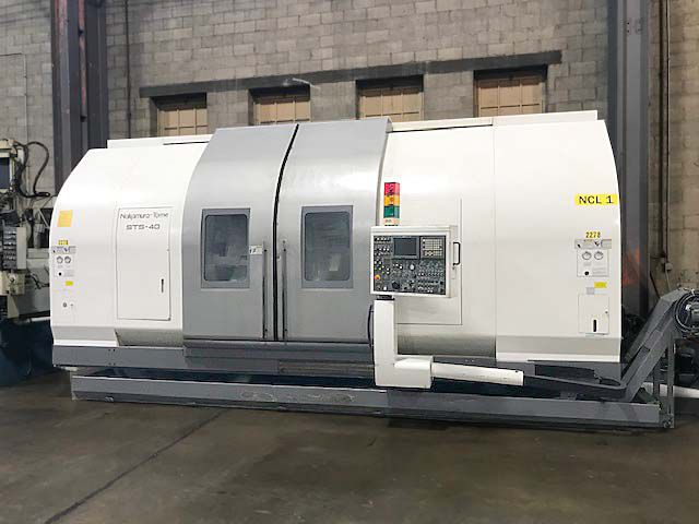 Nakamura Fanuc 18iTB CNC Control 3500 RPM STS-40 6 Axis
