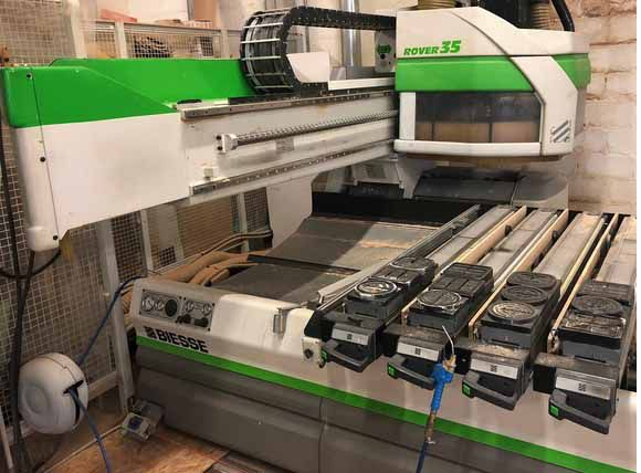 Biesse Rover 35 EPS 4 Axis