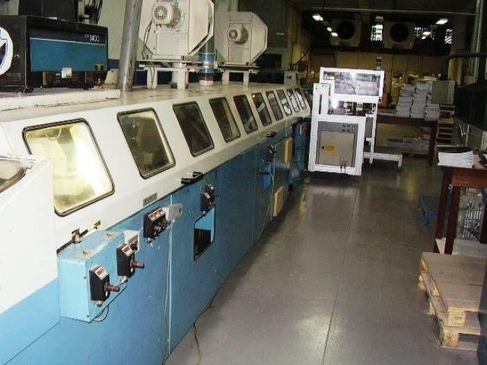 Wohlenberg Champion 7000, Perfect Binding machine