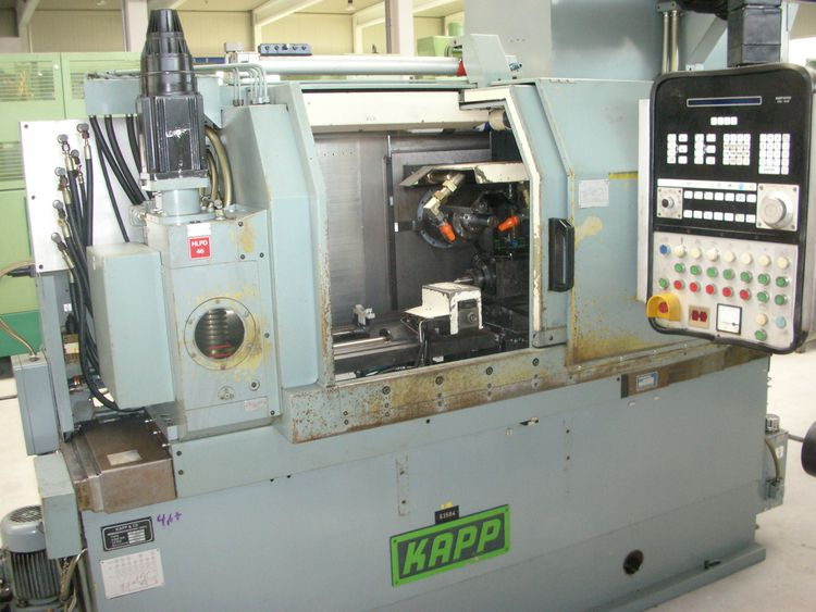 Kapp VAG 481 CNC Max. 6000 rpm CNC-Controlled Horizontal Gear and Profile Grinding Machine