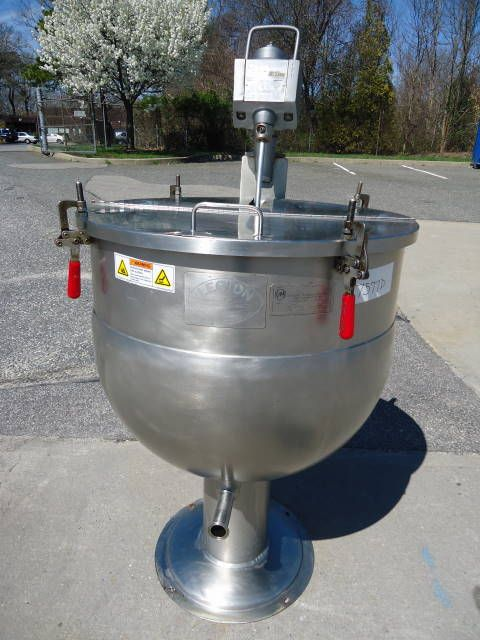 Legion JACKETED KETTLE WITH LIGHTNIN AGITATOR