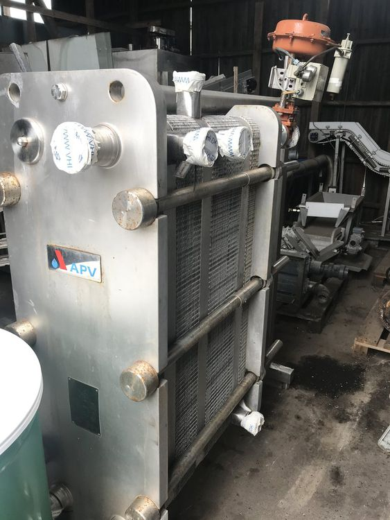 APV, Baker Pasteur with 4 section PLATEEXCHANGER