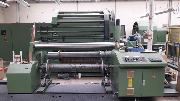 Karl mayer MKS-2 Sample warping machine