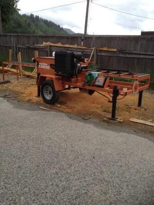Woodmizer Sawmill / Reman with Woodmizer Primary Breakdown