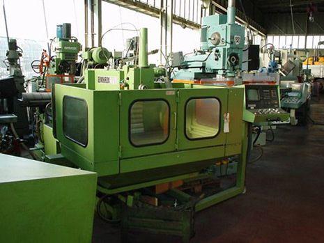 Mikron WF 3 DCM tool milling machine 3150 rpm
