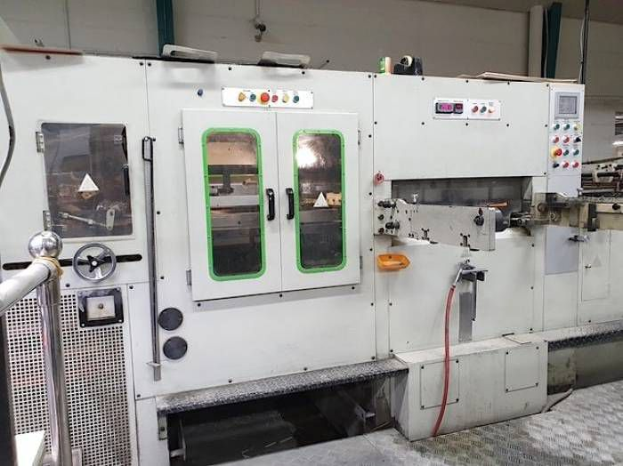 Yawa MD 1050E, Die Cutting machine