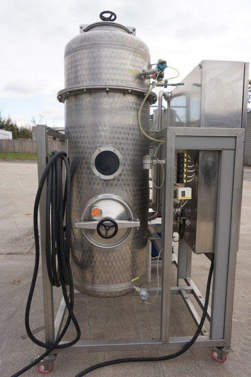 Ectecno 750-ENO Grape Juice Vacuum Concentrator/Evaporator