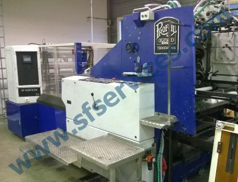 Polygraph, Victoria Cylinder Hot Foil Blocking & Embossing Machine