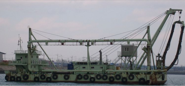 Sand Extraction Dredger