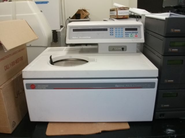 Beckman Coulter Optima Max, Ultracentrifuge