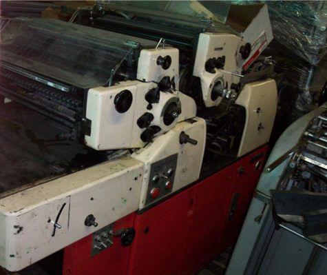 "Hamada 880SX, 2 colors Offset machine 14""x20"""