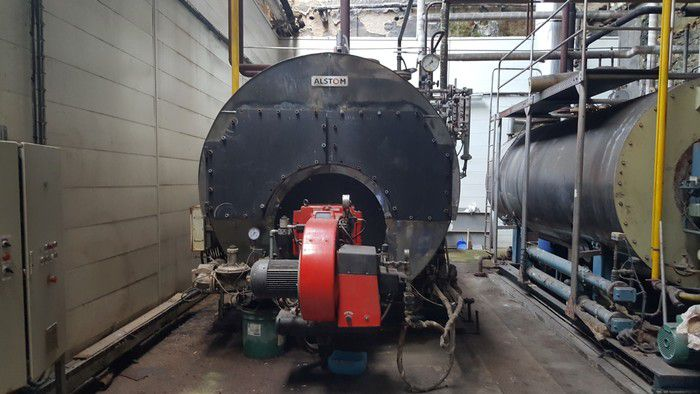 Alstom steam boiler 5000 kg / h