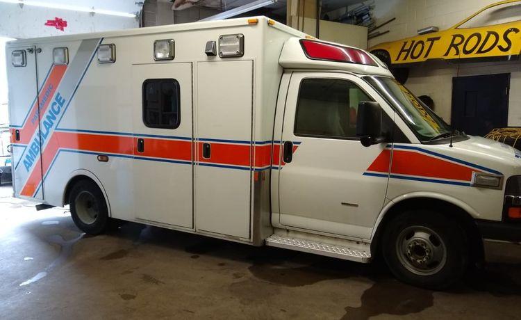 Chevrolet Diesel Ambulance