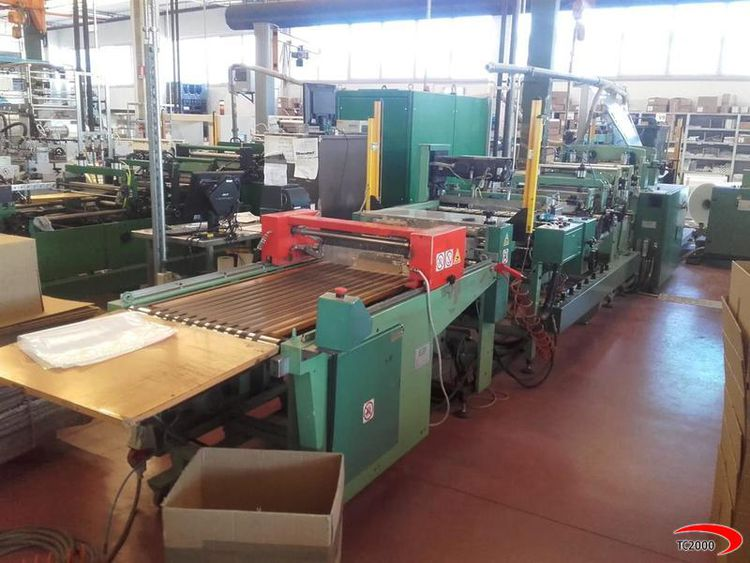 Elba SAV20   Pauches and vacuum bag making