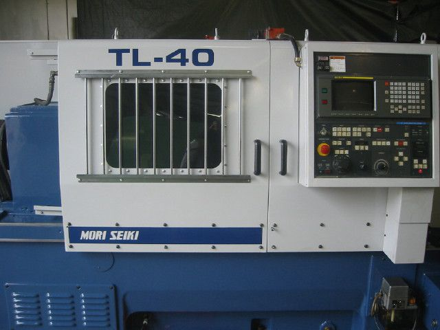 Mori Seiki FANUC 16T CONTROL Max. 2000 rpm TL 40B/2000 2 Axis