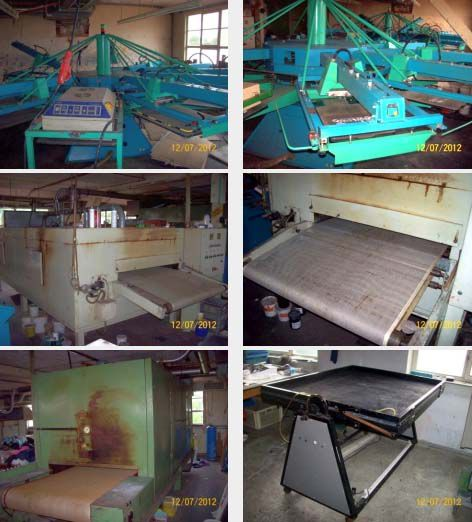 Others Complete Carousel Screen Printing Mill