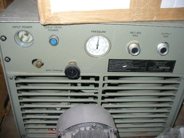 CTI SC, Cryo Compressor